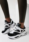 Czarne Sneakersy Celareanes