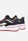 Czarne Sneakersy Aeleonoire
