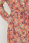 Pomarańczowa Sukienka Pethedice