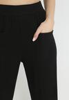 Czarne Spodnie Dresowe Astrethe