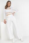 Białe Spodnie Dresowe Astrethe