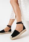 Czarne Sandały Saliophai