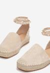 Beżowe Sandały Saliophai