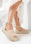 Beżowe Sandały Meniphophi