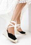 Czarne Sandały Theanypso