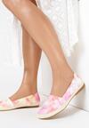 Różowo-Białe Espadryle Calypheosis