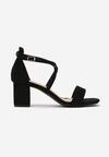 Czarne Sandały Sabeosis