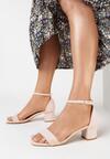 Różowe Sandały Salophis