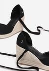 Czarne Sandały Orphali