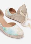 Miętowe Sandały Sylphionis