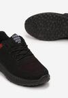 Czarno-Czerwone Buty Sportowe Nyxelia