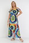 Niebieska Sukienka Harphiphi