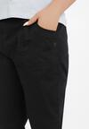 Czarne Spodnie Thyxosia