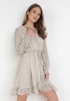 Biała Sukienka Ophieis