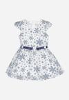 Biała Sukienka Typhophe