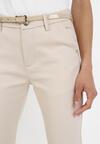 Jasnobeżowe Spodnie Thanetis