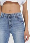 Niebieskie Jeansy Skinny Samyphise