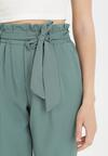 Zielone Spodnie Paper Bag Psalohsa