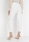 Białe Spodnie Cygaretki Selestiphelia