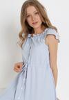 Jasnoniebieska Sukienka Arethetis