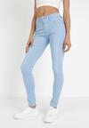 Jasnoniebieskie Spodnie Skinny Aigalise