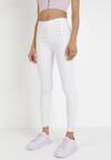 Białe Spodnie Skinny Eireneva