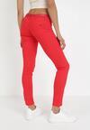Czerwone Spodnie Skinny Idagenia