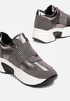 Metaliczne Sneakersy Harpheusa