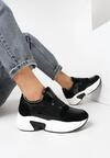 Czarne Sneakersy Harpheusa