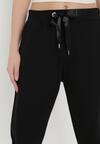 Czarne Spodnie Dresowe Peshyphe