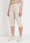 Jasnobeżowe Spodnie Viffi
