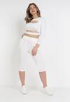 Białe Spodnie Viffi