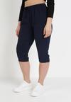 Granatowe Spodnie Viffi