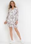 Biała Sukienka Venmaer