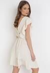 Jasnobeżowa Sukienka Astriax
