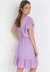 Liliowa Sukienka Astriax