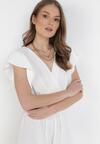 Biała Sukienka Astriax