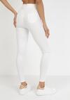 Białe Spodnie Skinny Kelnessa