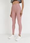 Różowe Spodnie Skinny Kelnessa