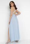 Jasnoniebieska Sukienka Sagassa