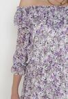 Fioletowa Sukienka Peshanea