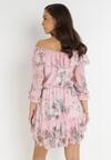 Różowo-Fioletowa Sukienka Peshanea
