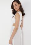 Biała Sukienka Sagiphei
