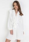 Biała Sukienka Gryntarish