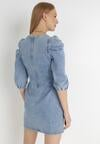 Niebieska Sukienka Anthiphite