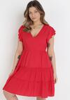 Czerwona Sukienka Callirea