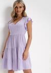Liliowa Sukienka Callirea
