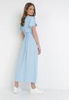 Jasnoniebieska Sukienka Vilinerris