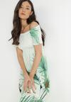 Zielona Sukienka Thellisa