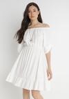 Biała Sukienka Zaehorin